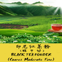 Indonesian black tea powde